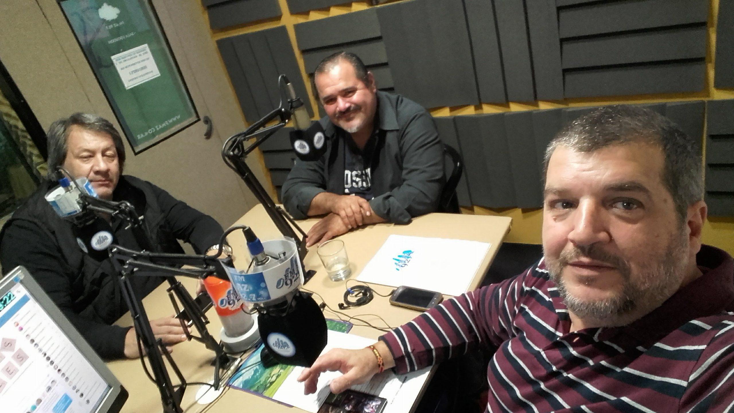 Ronald Boettner y José María Blanc