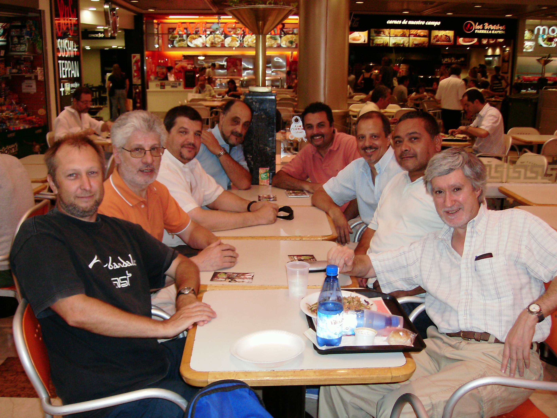 Con amigos en Buenos Aires