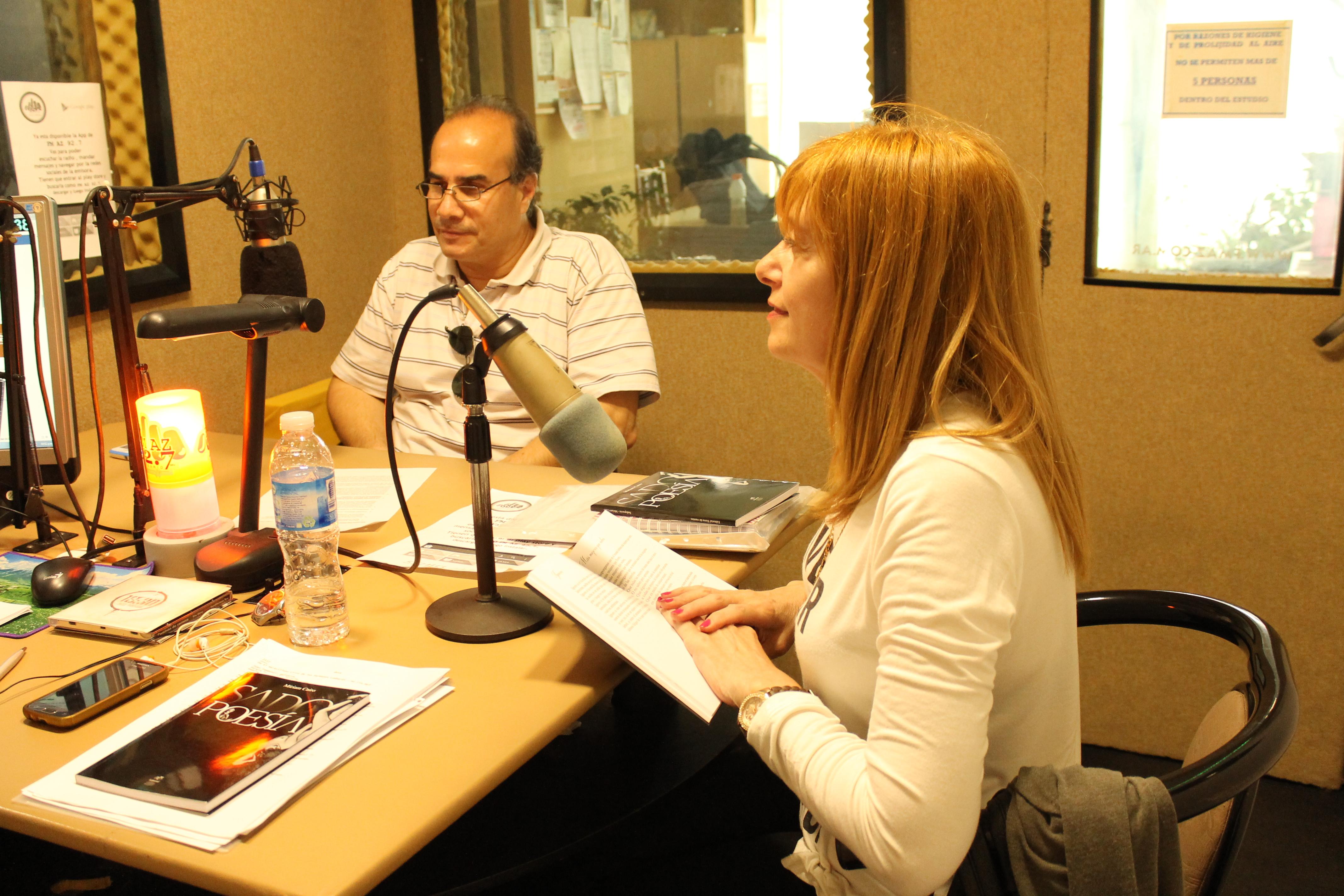 Raúl Astorga y Miriam Cairo
