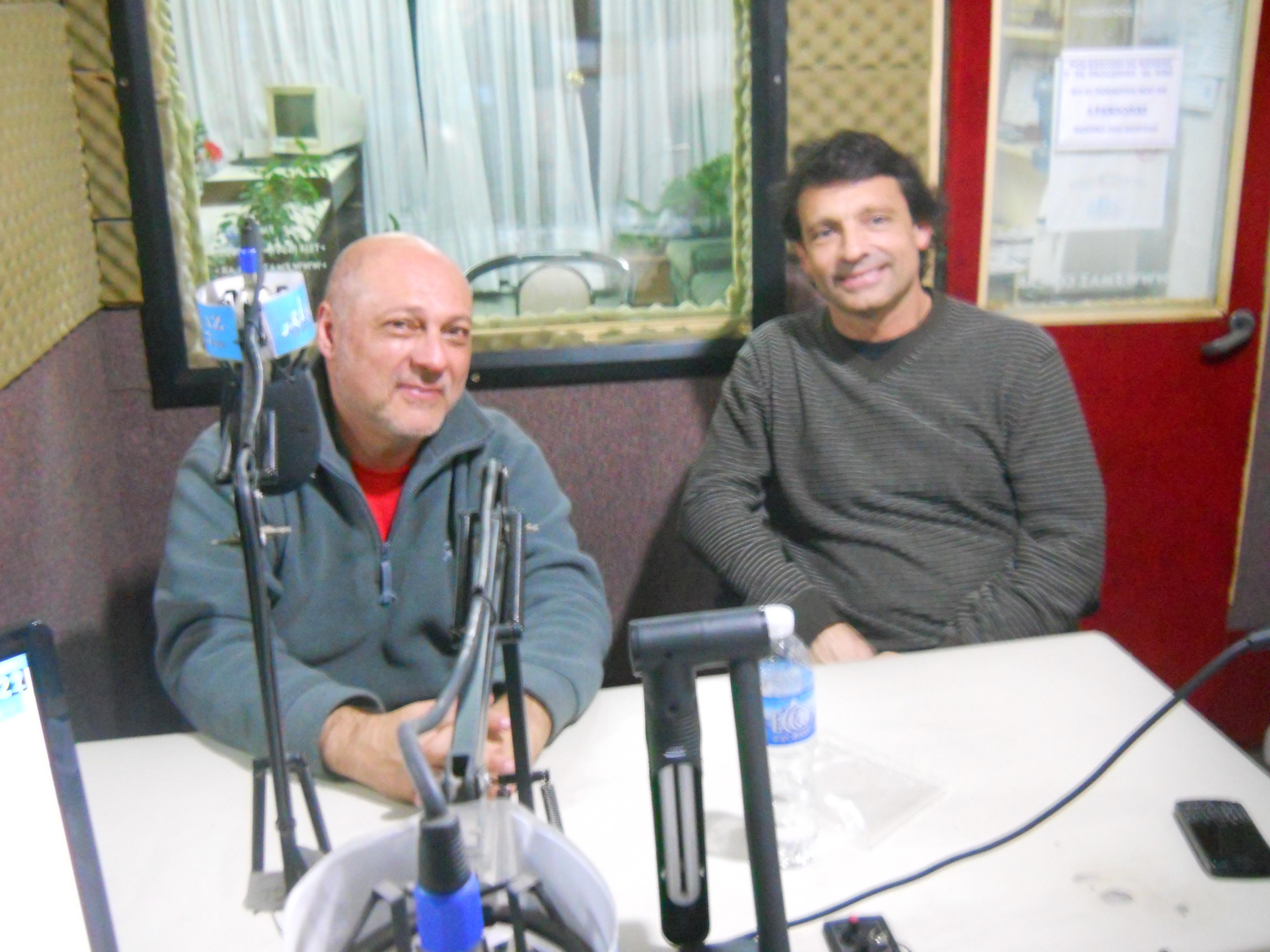 Coco Maskivker y Luis Fuster