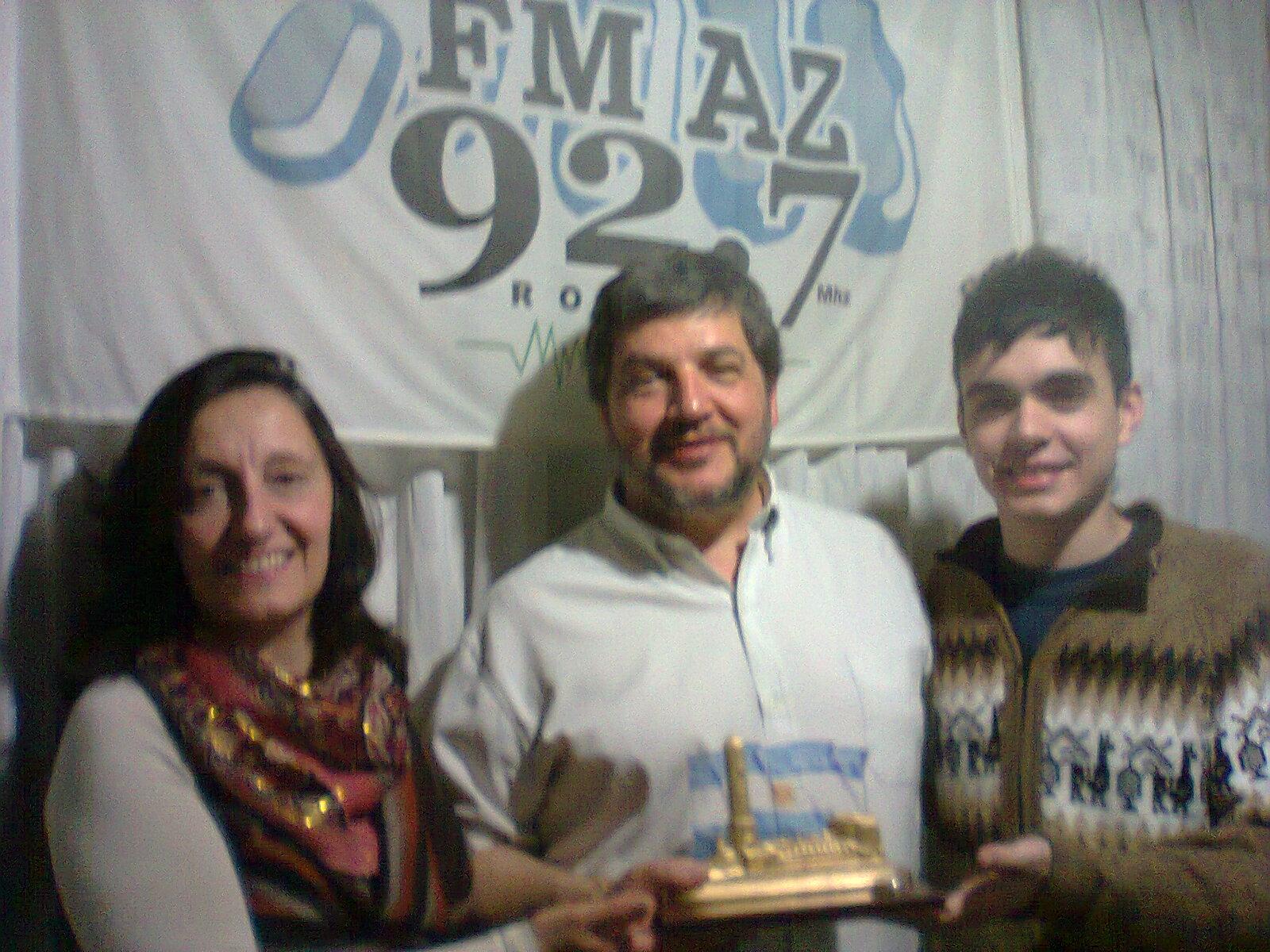Premio en la radio