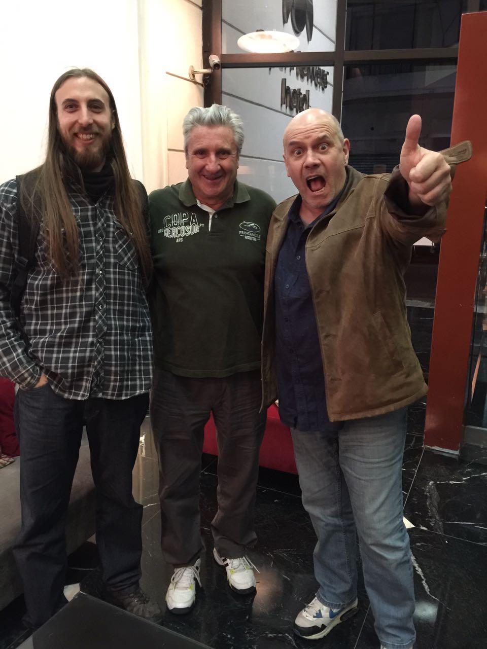Claudio Delgift, Tito Correa y Phil Spalding