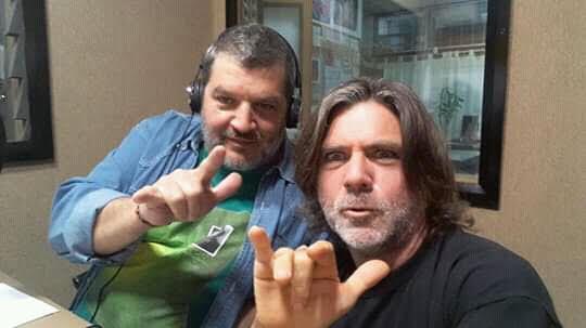 Con Jorge Perez Perri