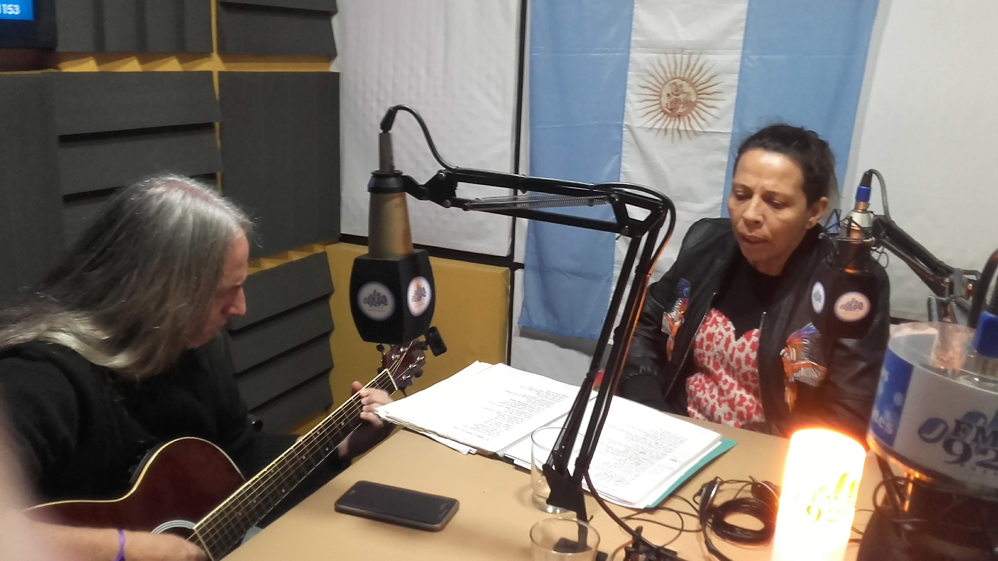 Marcelo Arce y Cintia Olmos