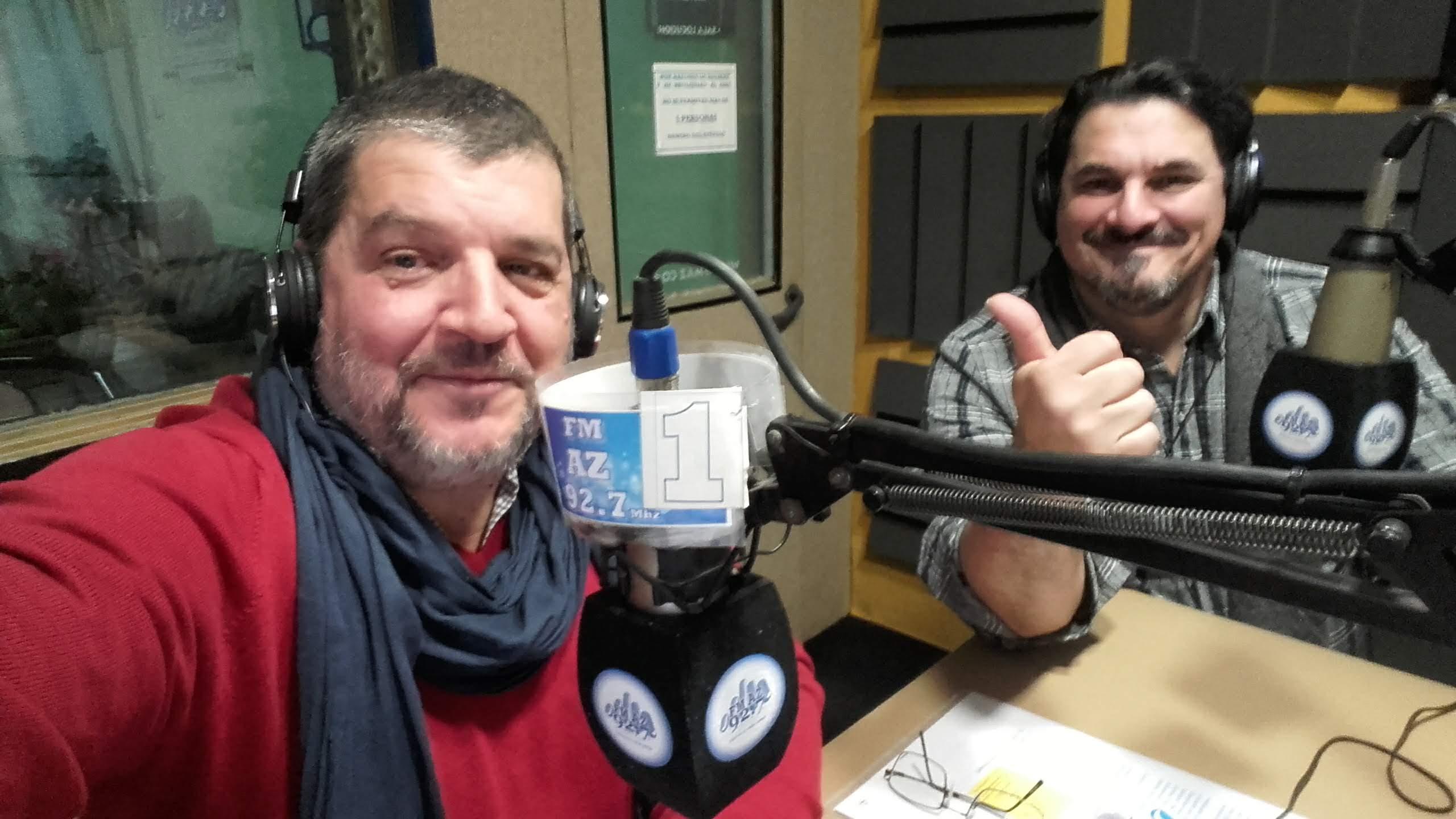 Con Diego Lambertucci