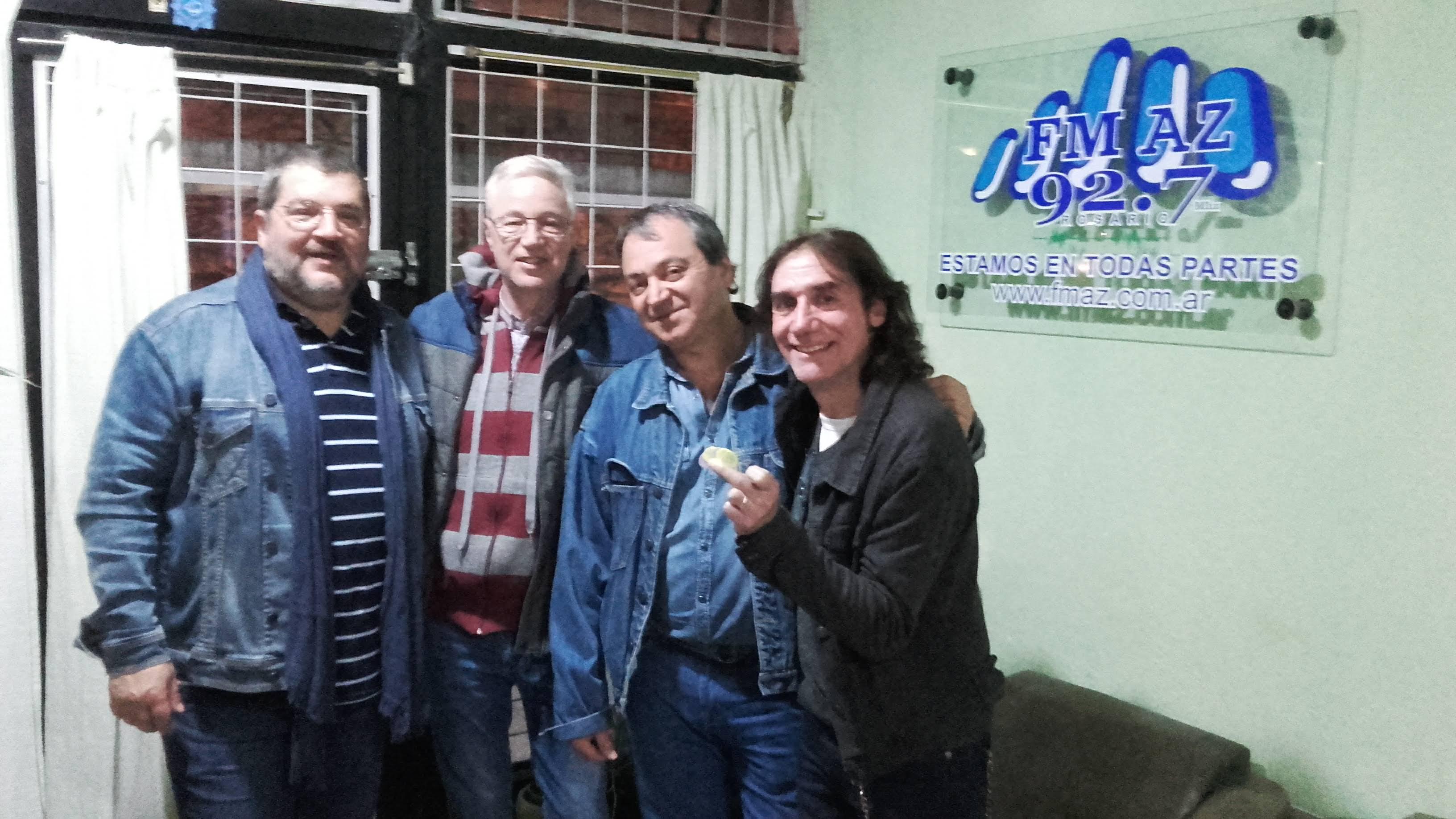 Yayi, Marcelo y Hugo.