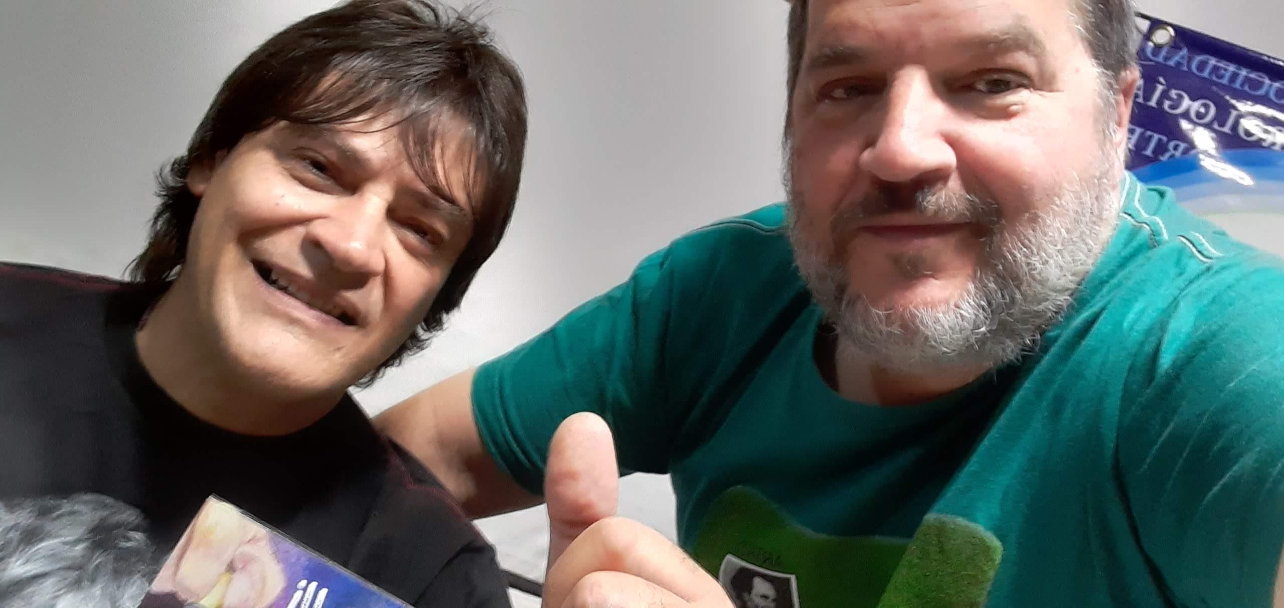 Con Bonzo Morelli